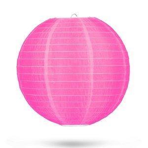 Nylon lampion roze 35cm