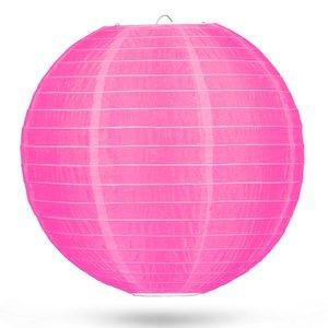 Nylon lampion roze 50cm