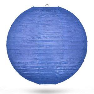 Lampion donkerblauw 50cm