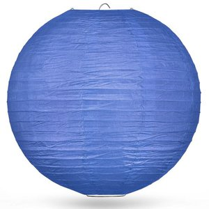 Lampion donkerblauw 80cm