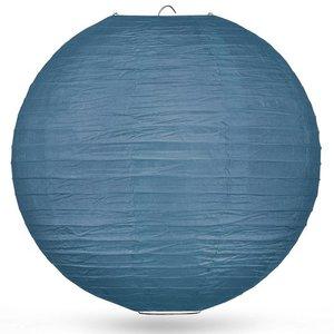 Lampion leisteenblauw 80cm
