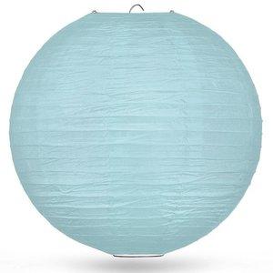 Lampion lichtblauw 80cm