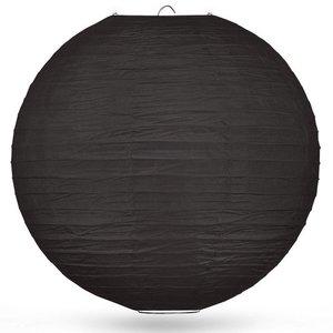 Lampion zwart 80cm